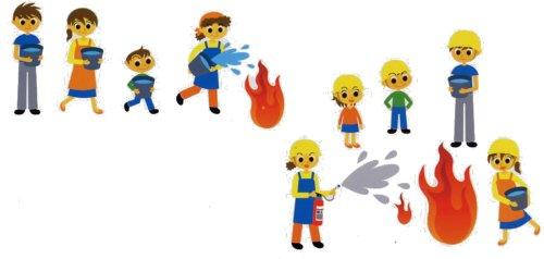『自主防災組織や災害ボランティア活動への積極的な参加を!』の画像