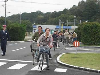 『鶴ヶ島市リサイクル自転車小売商組合さんによる自転車の整備のお話02』の画像