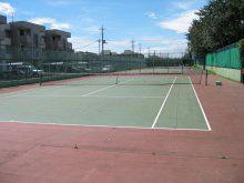 『脚折近隣公園テニスコート(ハードコート3面)』の画像
