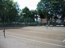 『富士見中央近隣公園テニスコート(クレーコート2面)』の画像
