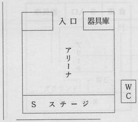 鶴ヶ島第ニ小学校 体育館