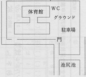 『県立鶴ヶ島高等学校 全体図』の画像