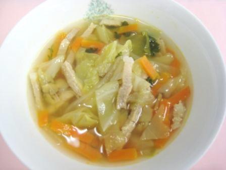 『ジュリエンヌスープ』の画像