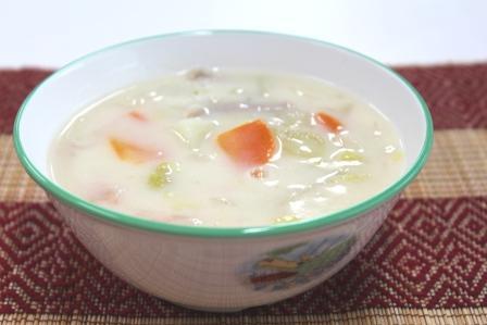 『白菜のクリーム煮』の画像