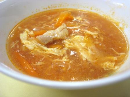 『トマトと卵のスープ』の画像