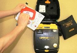 『AEDの外観』の画像