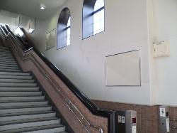 『若葉駅西口階段部分の掲示パネル』の画像