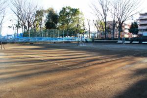 『富士見中央近隣公園(テニスコート全景)』の画像