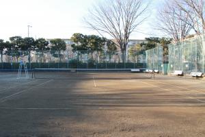 『富士見中央近隣公園(テニスコートA面)』の画像