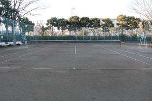 『富士見中央近隣公園(テニスコートB面)』の画像