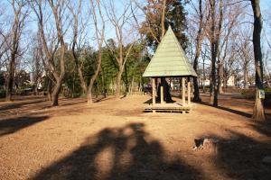 『富士見中央近隣公園(外観・東屋と竹林)』の画像