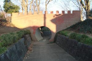 『富士見北児童公園(遊具・トンネル)』の画像