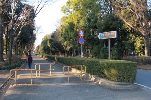 『富士見緑地(入口)』の画像