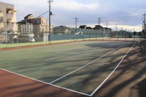 『脚折近隣公園(テニスコートB面)』の画像