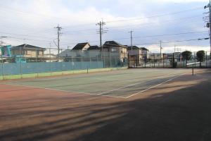 『脚折近隣公園(テニスコートC面)』の画像