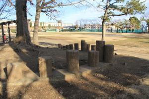 『脚折近隣公園(遊具・アスレチック)』の画像