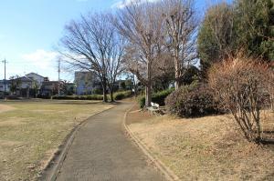 『脚折近隣公園(園路)』の画像