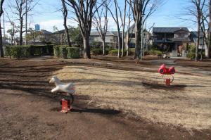 『富士見西児童公園(遊具・ライド)』の画像