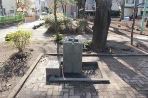 『富士見西児童公園(水飲み場)』の画像