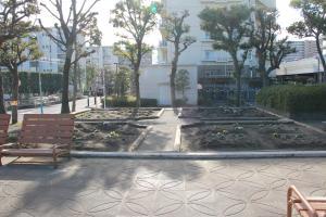 『富士見南児童公園(外観・花壇)』の画像