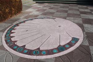 『富士見南児童公園(日時計)』の画像