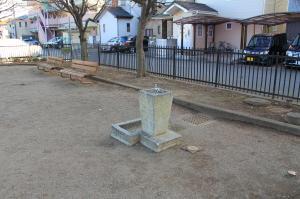 『八幡児童公園(水飲み場)』の画像