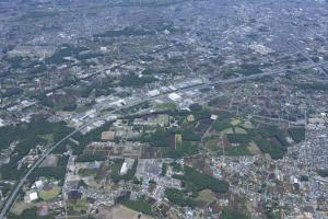 『鶴ヶ島の楽しみ方(空撮写真)』の画像