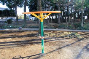 『雷電池児童公園(雲梯型遊具)』の画像