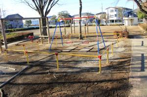 『雷電池児童公園(ブランコ)』の画像