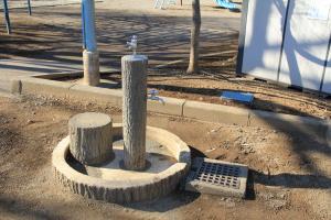 『羽折児童公園(水飲み場)』の画像