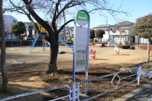 『羽折児童公園(バス停)』の画像