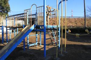 『星和公園(アスレチック・滑り台、上り棒)』の画像