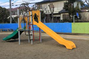 『割原児童公園(滑り台)』の画像