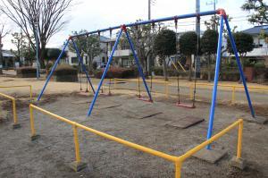 『割原児童公園(ブランコ)』の画像