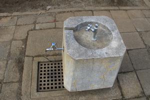 『割原児童公園(水飲み場)』の画像
