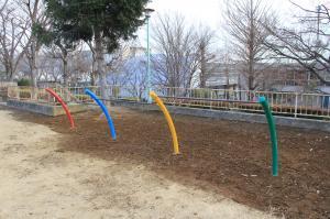 『境児童公園(鉄棒)』の画像