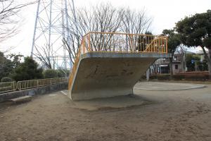 『境児童公園(見晴らし台)』の画像