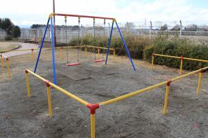 『鶴ヶ丘児童公園(ブランコ)』の画像