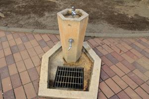 『鶴ヶ丘児童公園(水飲み場)』の画像
