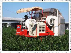 『大型茶刈り機』の画像