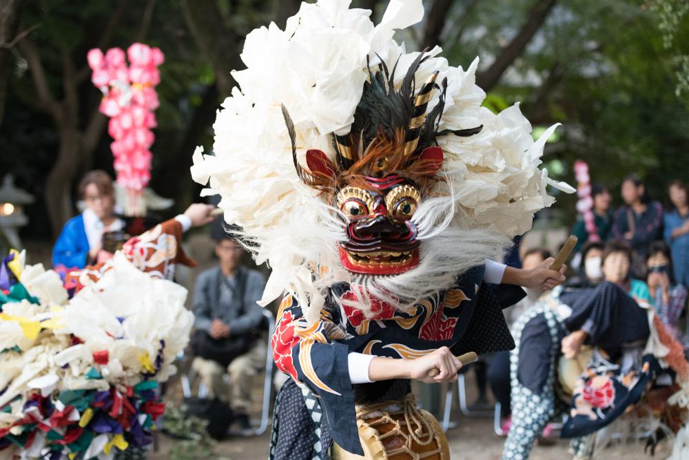 『高倉獅子舞1(サムネイル)』の画像