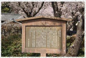 『日枝神社「高倉獅子舞案内看板」』の画像
