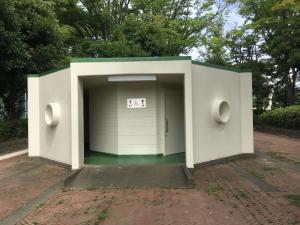 『富士見中央近隣公園トイレ1』の画像