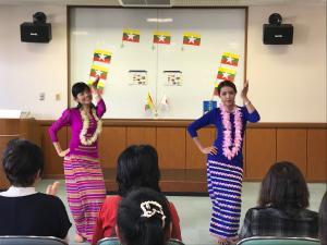 『ミャンマー民族舞踊』の画像
