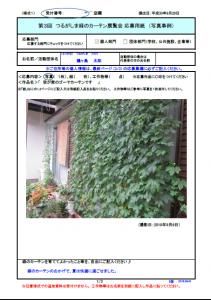 『緑のカーテン見本』の画像