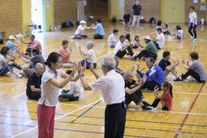 『ラジオ体操教室』の画像