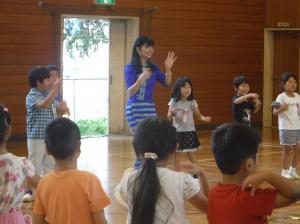 『民族舞踊の体験(3)』の画像