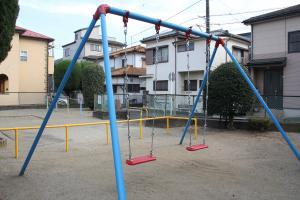 『羽折南公園(ブランコ)』の画像