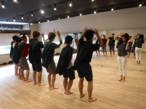 『ダンス事前練習(2)』の画像
