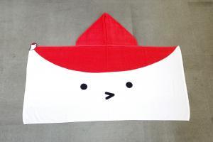 『鶴ちゃんバスタオル』の画像